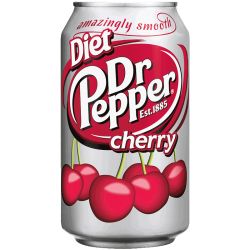 Dr. Pepper – Cherry Diet 0,355 л
