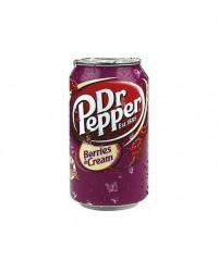 Dr. Pepper – Cherry Berries & Cream 0,355 л